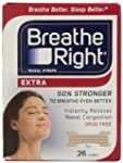 Breathe Right Nasal Strips, Extra, 26...