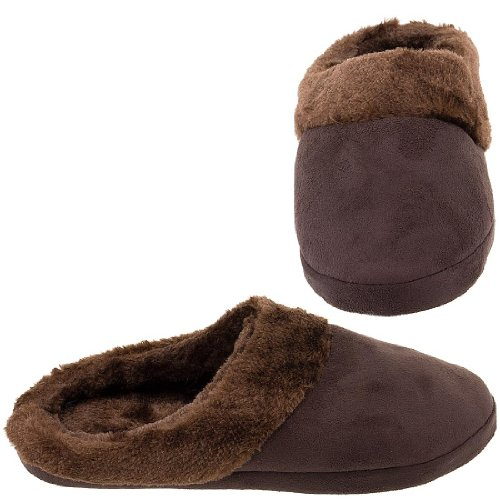 Cheap Harve Benard Brown Clog Slippers for Women (B005Y4S77U)