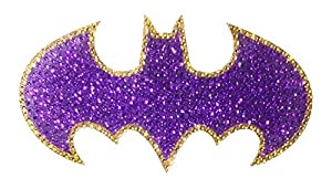 DC Comics Crystal Studded Batman Bling Logo Car Window Sticker Decal at Gotham City Store