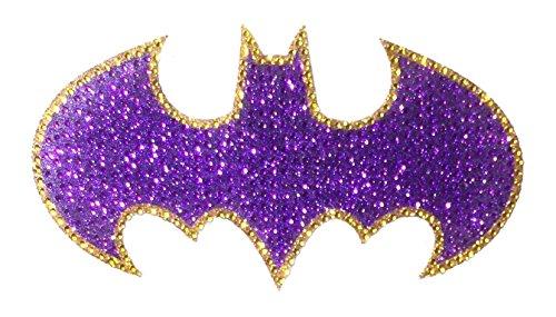 DC Comics Crystal Studded Batman Bling Logo Car Window Sticker Decal at Gotham City Store