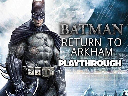 Clip: Batman Return To Arkham Playthrough - Season 1