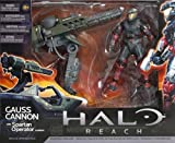 Warthog Gauss Cannon with Spartan Operator - Halo Reach - Warthog Accessory Set - Vehicle Upgrade