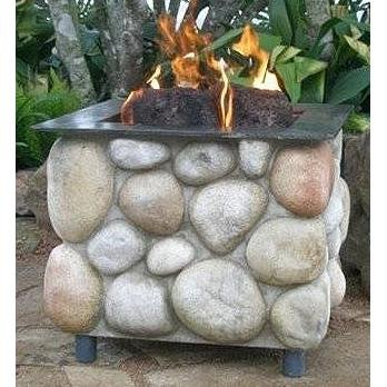 Firescapes The Colorado Pedestal Propane Fire Pit