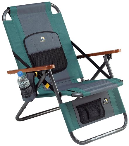 Gci Outdoor Wilderness Recliner, Hunter front-1016725