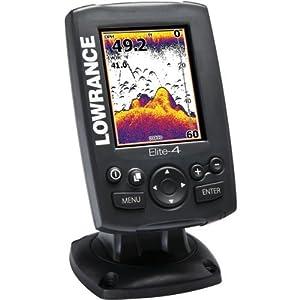 Lowrance Elite-4 Map Base Transducer by Jaybrake
