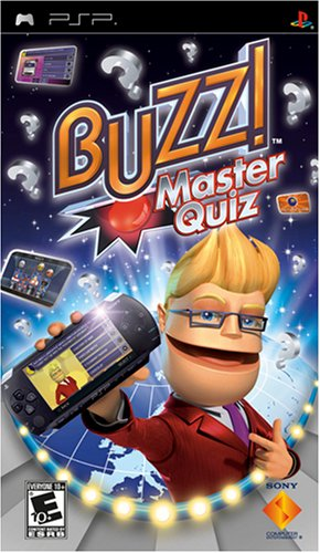 Buzz Master Quiz - Sony PSP