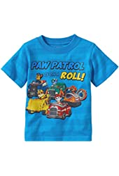 Paw Patrol Striped Little Boys' T-shirt