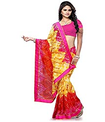 My online Shoppy Chiffon Saree (My online Shoppy_150_Multi-Coloured)