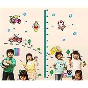 Syga Wall Sticker Kids Room Decor Height Measurement A_MUAO
