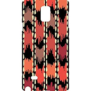 a AND b Designer Printed Mobile Back Cover / Back Case For Samsung Galaxy Note 4 (SG_N4_3D_2334)