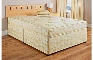 5ft King Size Katie Divan Bed & Mattress - No Storage