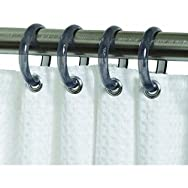 Zenith Prod. SSR001NT Chrome Shower Hook Curtain Ring-CHR SHOWER CURTAIN RING