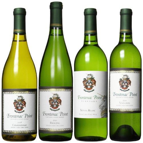 Frontenac Point Vineyard Cayuga Lake Estate White Wines Mixed Pack, 4 X 750 Ml