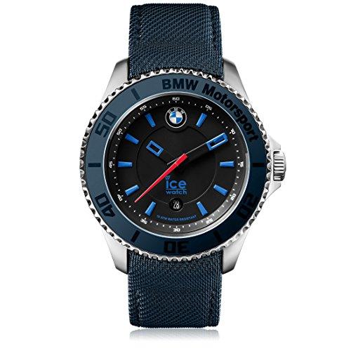Ice-Watch BMW Motorsport BM.BLB.U.L.14 - Orologio da polso unisex, cinturino in pelle colore blu