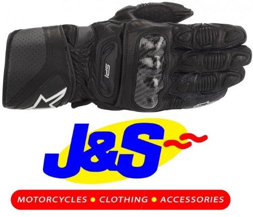 Alpinestars SP-1Gants de moto en cuir noir RACE SP1Gants de moto J & S