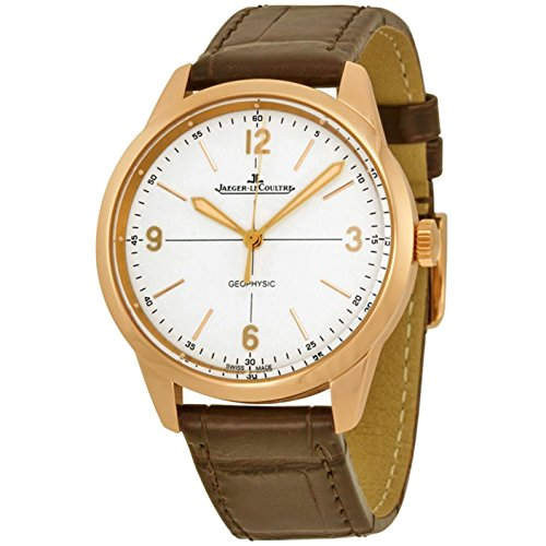 jaeger-lecoultre-mens-geophysic-385mm-brown-leather-band-steel-case-automatic-white-dial-watch-q8002