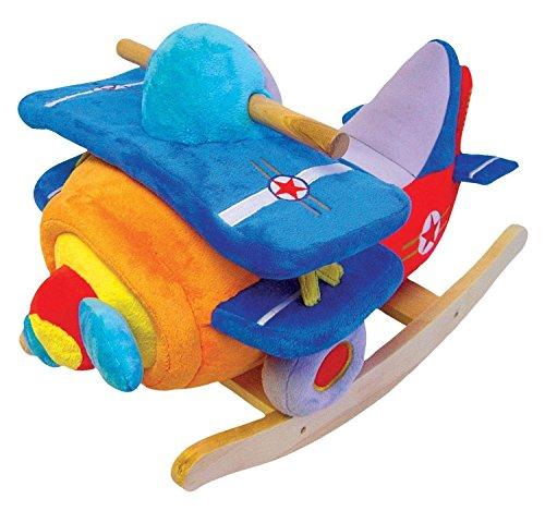 Charm-Company-Bi-Plane-Rocker-with-Musical-Sound