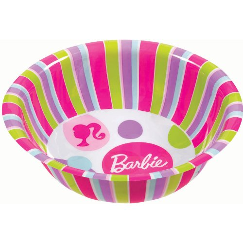 Barbie All Doll'd Up Party Bowl