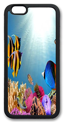 Fantastic Faye Pc Material Under Sea World Beautiful Hot Selling Top Quality Fishs Special Design Cell Phone Cases For Iphone 6 No.15
