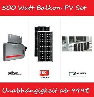 solar pac 1000 flachdach die solaranlage f r die amazon. Black Bedroom Furniture Sets. Home Design Ideas