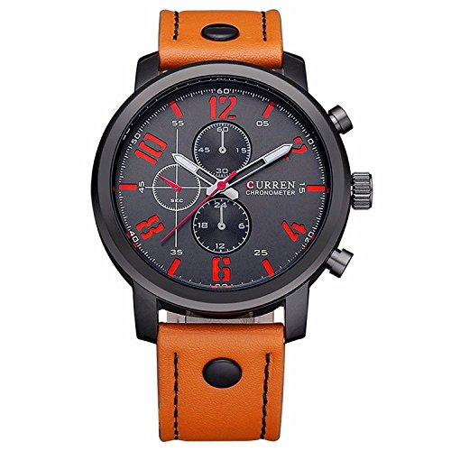 koiikor-skmei-mens-98ft-30m-water-resistant-analog-quartz-watch-with-dial-analogue-display-and-leath