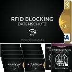 12x RFID Blocking Schutzh�lle f�r: Pe...