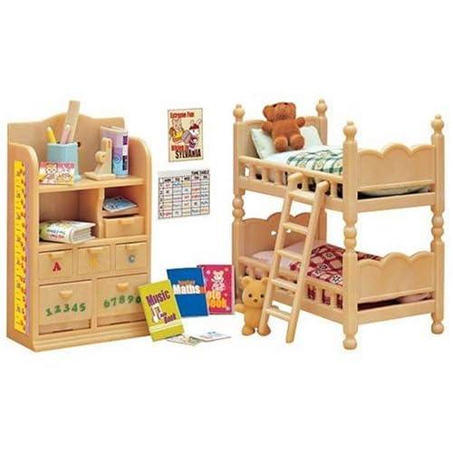 sylvanian families children 39 s bedroom set sylvanian families