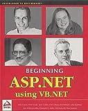 img - for Beginning ASP.NET Using VB.NET book / textbook / text book