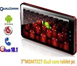 "7"" Tablet Pc with Qualcomm Chip Android 2.2 Support Phone Call,gps,bluetoot ...."