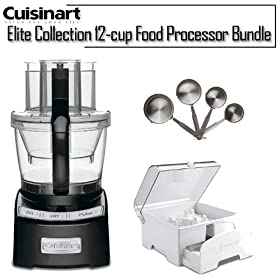 Cuisinart FP-12BK Elite Collection 12-cup Food Processor Black