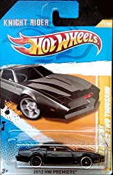 Hot Wheels KNIGHT RIDER KITT Knight Industries Two Thousand 2012 New Models Series 1:64 Scale Collectible Die Cast Metal Toy Car Model #17/50