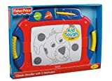 Fisher-Price Kid-Tough Classic Doodler with 2 Stampers - Red