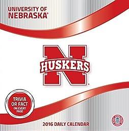 Turner Nebraska Cornhuskers 2016 Box Calendar, January-December (8051380) by Turner