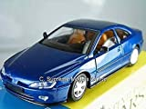 Peugeot 406 Coupe 1/43Rd Size 2 Door Sports Solido Pack Blue Version R0154X