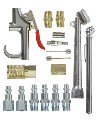 PORTER-CABLE P17ACK 17-Piece Air Tool Accessory Kit