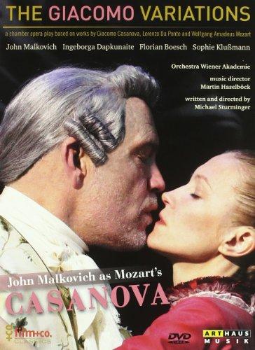 The Giacomo variations (John Malkovich) - Sturminger - DVD
