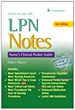img - for LPN Notes: Nurse's Clinical Pocket Guide (Davis's Notes) by Myers, Ehren 3rd (third) Edition [Spiralbound(2012)] book / textbook / text book