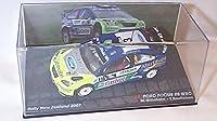 ixo ford focus RS WRC rally new zealand 2007 car 1.43 scale diecast model