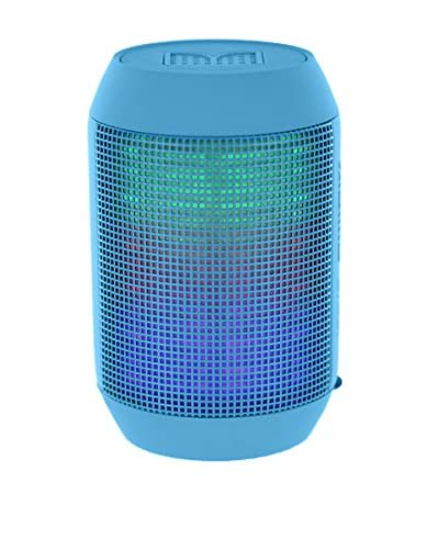 CAY Trading iPM Pump It Up LED Light Up Bluetooth Speaker, Blue