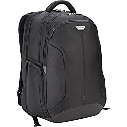 Targus Checkpoint-Friendly Corporate Traveler Backpack for 15.4 Inch Laptops CUCT02B (Black)