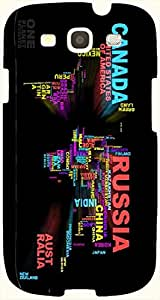 Lovely multicolor printed protective REBEL mobile back cover for S3 - Samsung I9300 Galaxy S III D.No.N-T-3621-S3