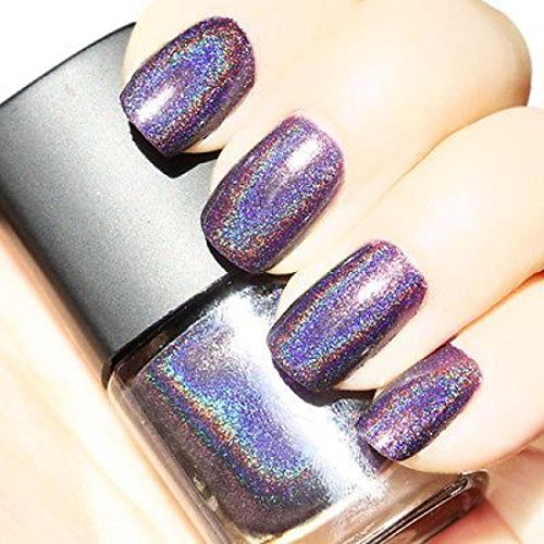 1Pc-Smart-Nail-Polish-Lacquer-Holographic-Holo-Glitter-Heavy-Metal-Rocker-Style-Volume-6ml