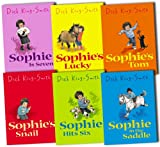 Dick King-Smith The Sophie Stories Collection 6 Books Set Dick King-Smith RRP: £29.94 (Sophie's Lucky, Sophie is Seven, Sophie in the Saddle, Sophie Hits Six, Sophie''s Tom, Sophie''s Snail)