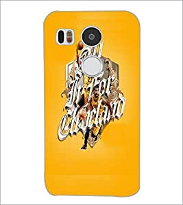 PrintDhaba Sports D-5940 Back Case Cover for LG NEXUS 5X (Multi-Coloured)