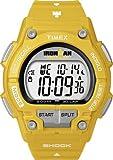Timex Ironman Bright 30 Lap Shock Yellow Resin Watch - T5K430SU