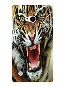 TREECASE Designer Printed Hard Back Case Cover For Nokia Lumia 720