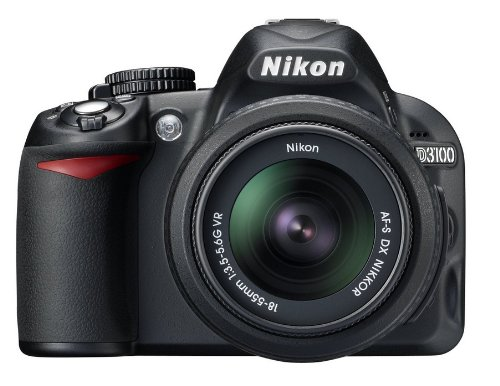 Nikon D3100 Digital SLR Camera Body Only (14.2MP) 3 inch LCD