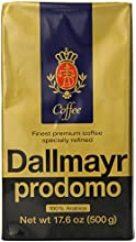 Dallmayr Gourmet Coffee Prodomo Ground 176-Ounce Vacuum Packs Pack of 2