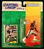 """RAGHIB """"ROCKET"""" ISMAIL / LOS ANGELES RAIDERS 1994 NFL Starting Lineup Action Figure & Exclusive NFL Collector Trading Card"""