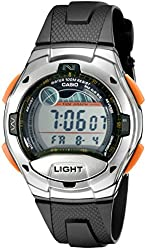 Casio Men's W753-3AV Sport Watch with Black Resin Band